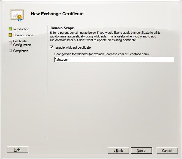 SAN Certificate (3/6)