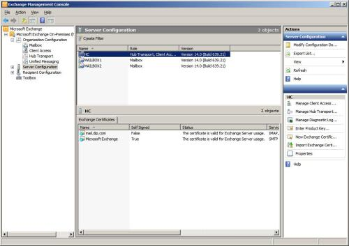 Exchange Server 2010 San Certificate Installation - TechNet Articles ...