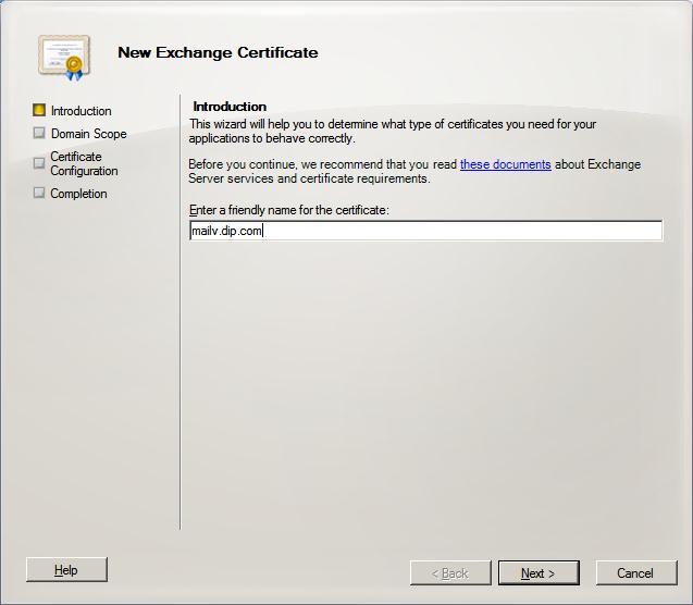 SAN Certificate (2/6)